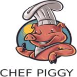 Logo chef piggy